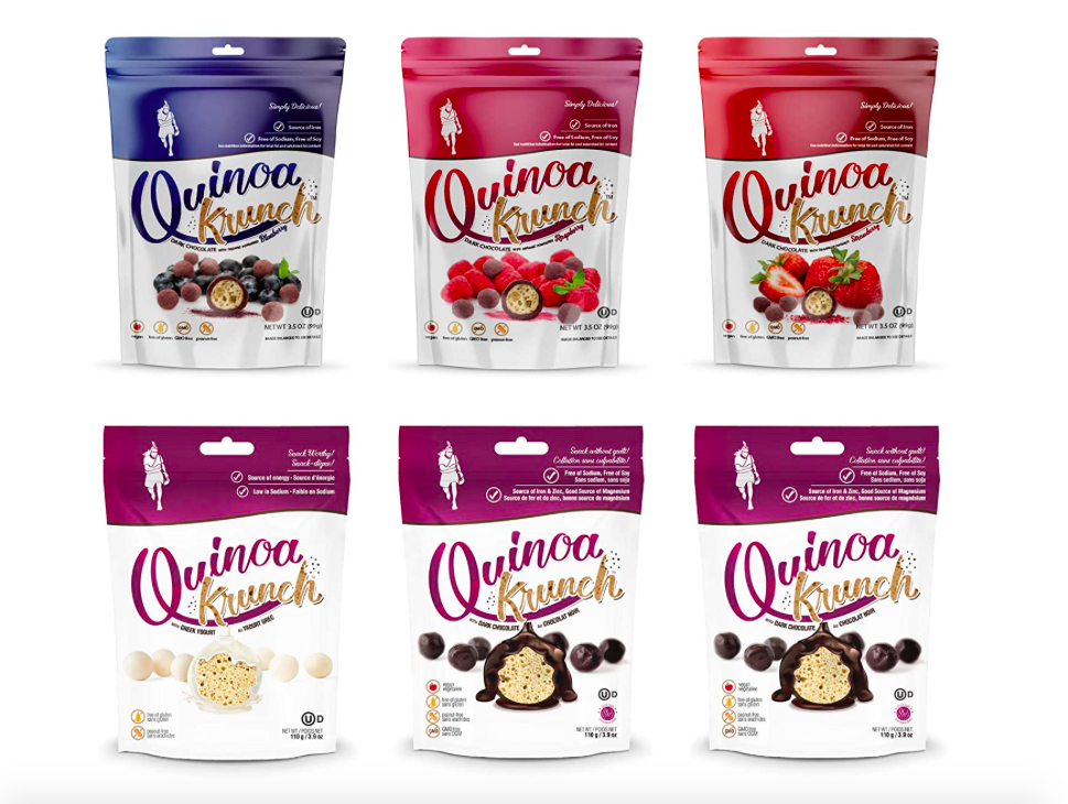 Quinoa Krunch Snacks