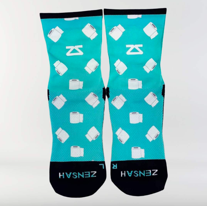 Zensah Print Socks (mini crew)