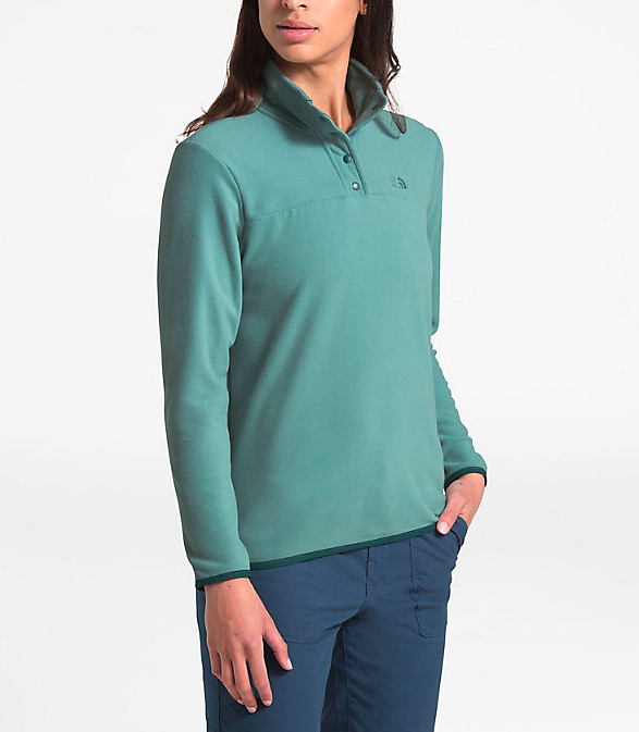 THE NORTH FACE The North Face Women's TKA Glacier Snap Neck Pullover