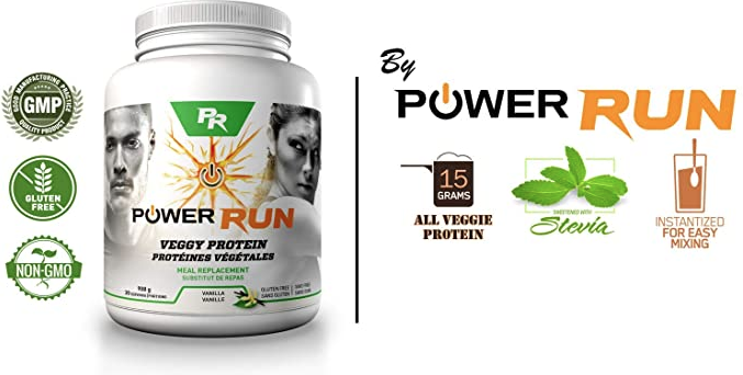 Spark Nutrition Spark Power Run Veggy Protein (908g)