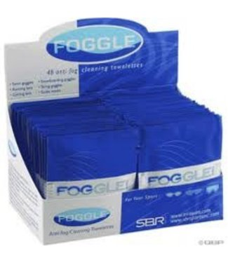 SBR SBR FOGGLE LENS WIPES - Box of 48
