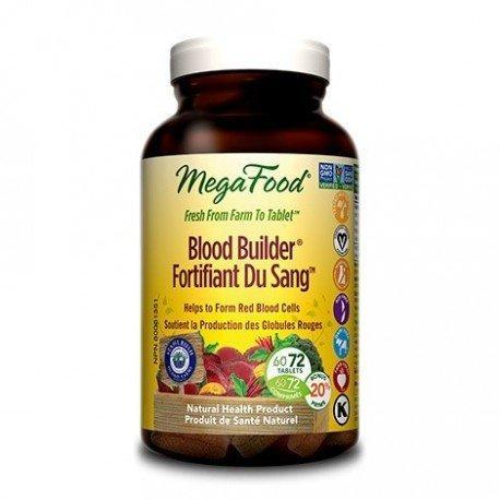 Mega Food Blood Builder - 72 caps