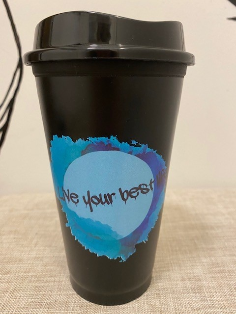 Live Your Best Life Live Your Best Life Travel Coffee Mug