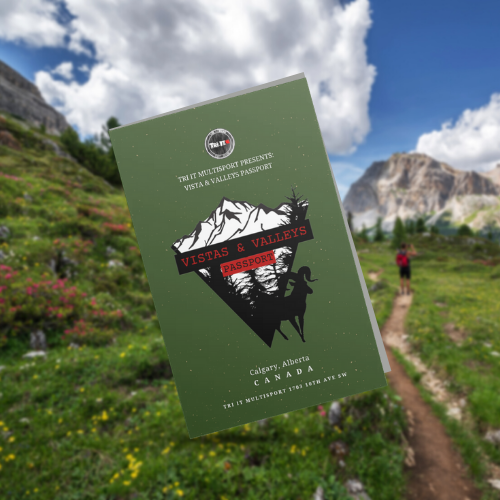 Tri It Multisport Calgary Hiking Passport