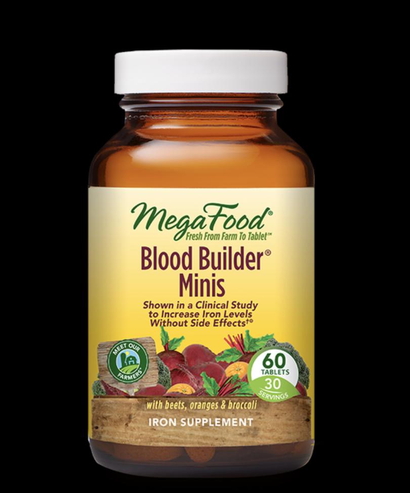 Mega Food Mega Food Blood Builder MINIS - 60 caps