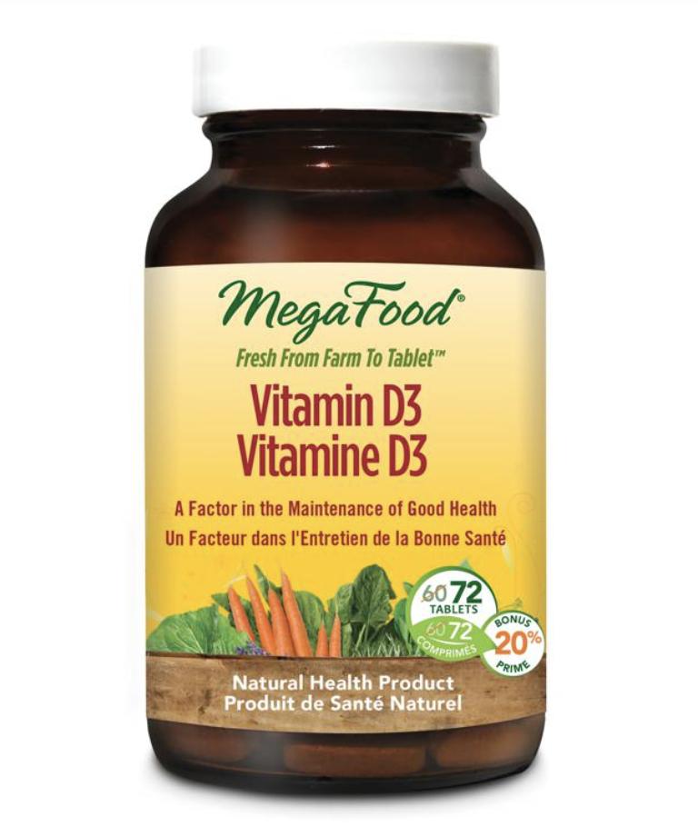 Mega Food Megafood Vitamin D3 - 72 caps