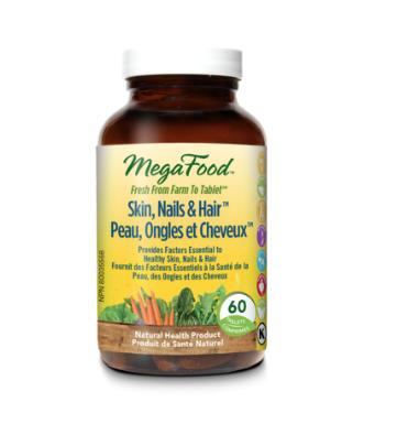 Mega Food Mega Food Skin, Nails, & Hair Caps
