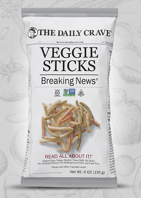 the Daily Crave The Daily Crave Veggie Sticks