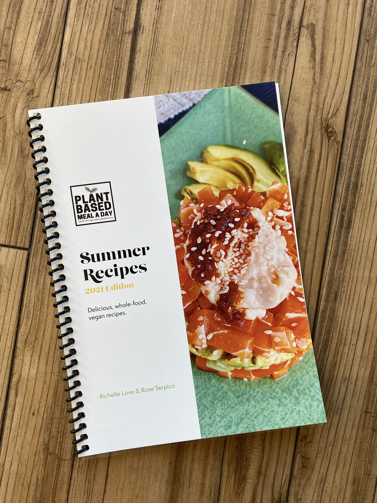 Plant Based Meal A Day PBMD Summer Recipes Cookbook