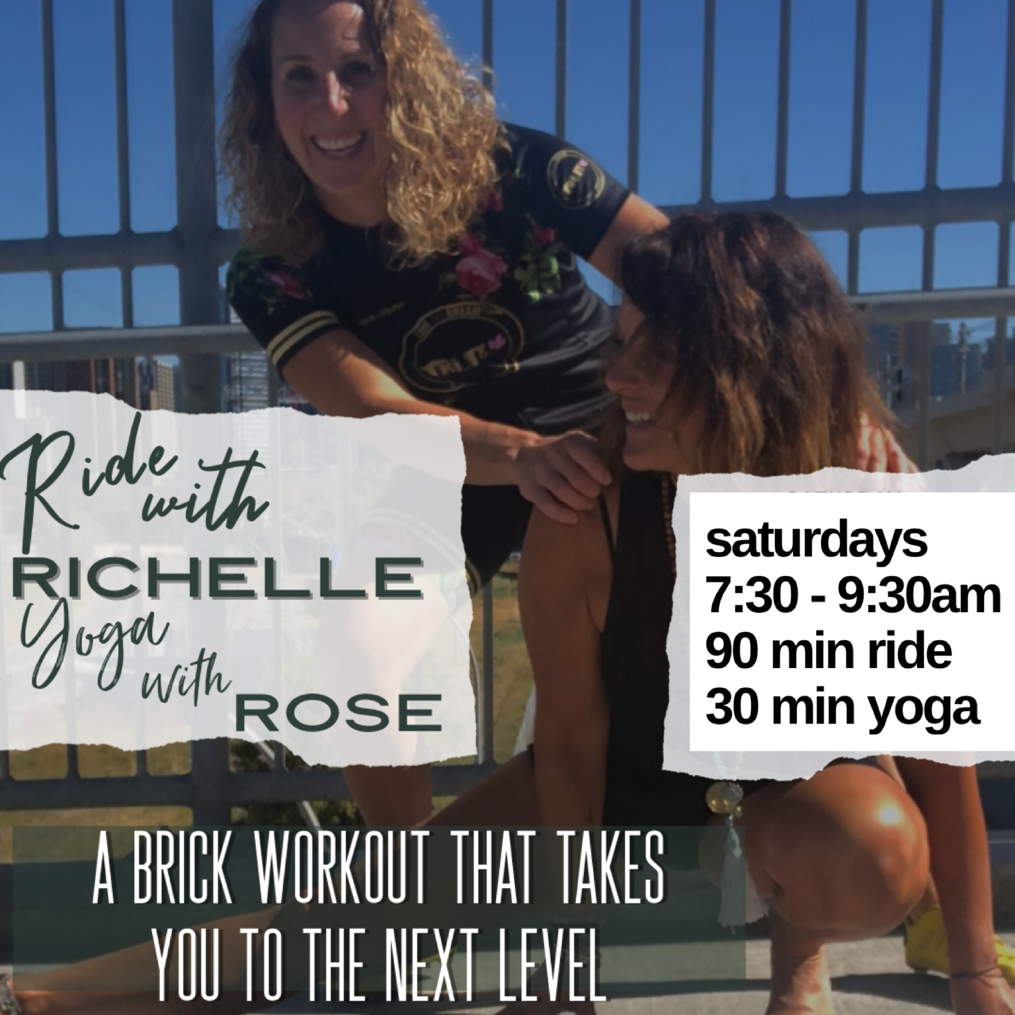 Tri It Multisport Fall 2021 Saturday Bike/Yoga Brick Session