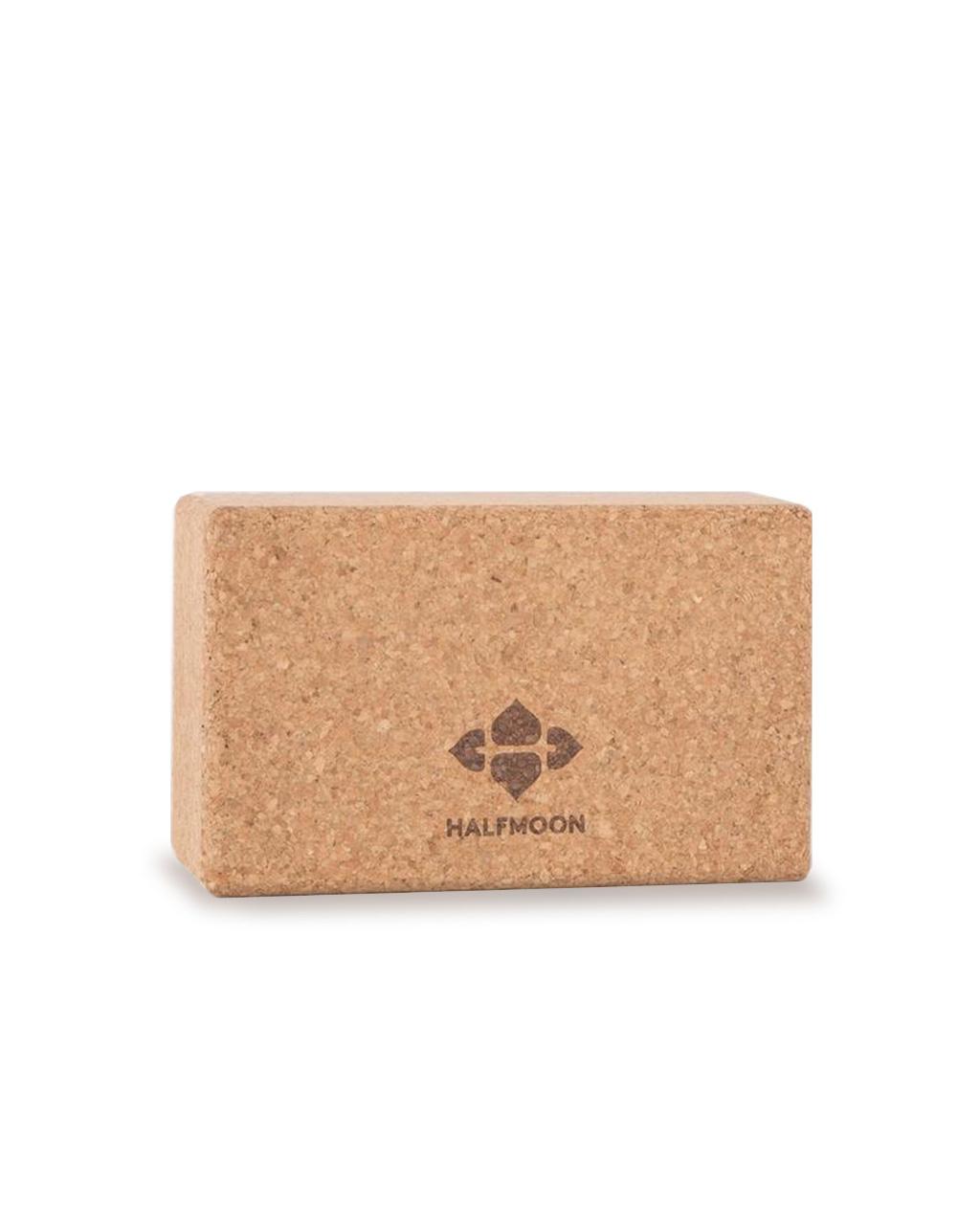 HalfMoon HalfMoon Natural Cork Yoga Block