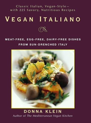 RANDOM HOUSE Vegan Italiano by Donna Klein