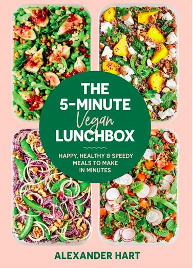 RANDOM HOUSE The 5 - Minute Vegan Lunchbox By Alexander Hart
