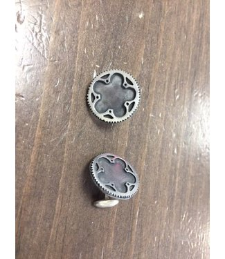 Bicycle Cog Pendant Cufflinks