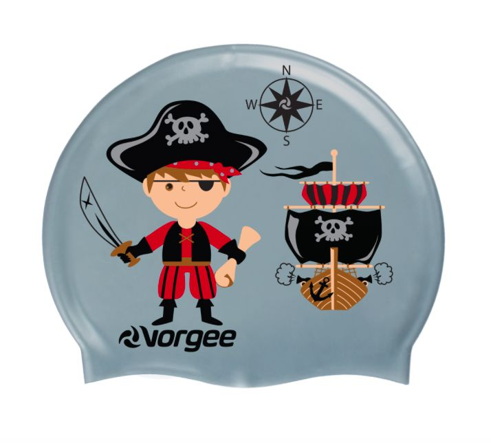 Vorgee Youth Silicone Character Swim Cap