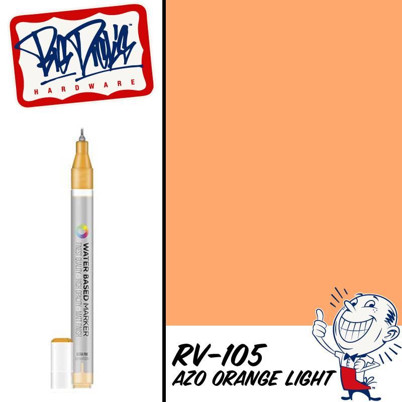 MTN Water Color 0.8mm Marker - Azo Orange Light
