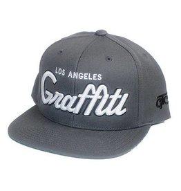Graffiti The City Snapback - Los Angeles Graffiti - Dark Grey