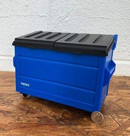TYO Desktop Dumpster Pencil holder - Blue