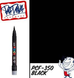 POSCA PCF-350 Brush Tip Paint Marker - Black