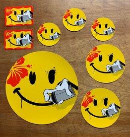 Slick Sticker Pack - Big Smiling Aloha