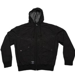 Dissizit Windbreaker - Break Bones - Black