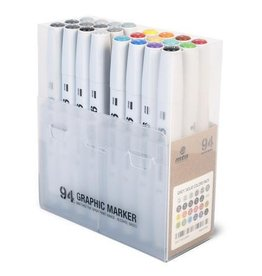 MTN 94 Graphic Marker w/Greyscale 24pk