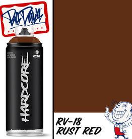 MTN Hardcore Spray Paint - Rust Red RV-18