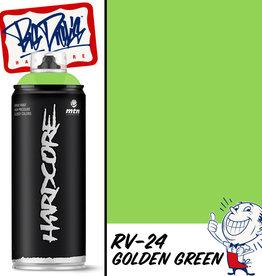 MTN Hardcore Spray Paint - Golden Green RV-24