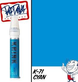 Krink K-71 Paint Marker - Cyan