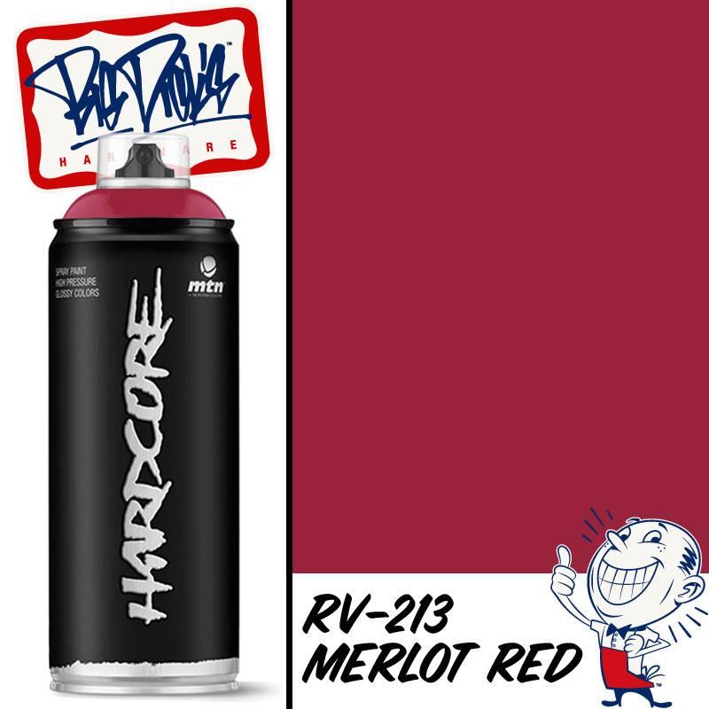 Mtn 2 Spray Paint Merlot Red Rv 213