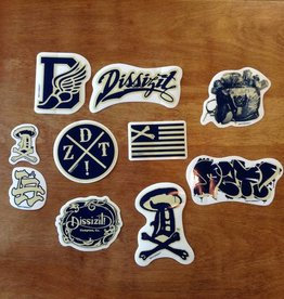 Dissizit Sticker Pack - Navy