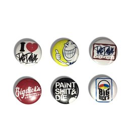 "BDH Button Pin Set - PSD (Size 1"")"