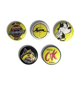 "DZT Button Pin Set - Genuine (Size 1"")"