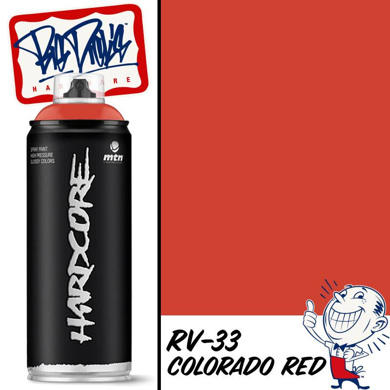 Mtn 2 Spray Paint Colorado Red Rv 33