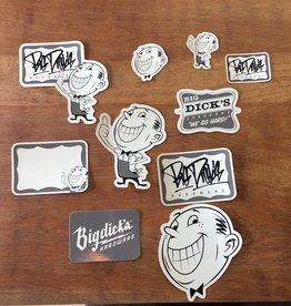 BDH Sticker Pack - Grey