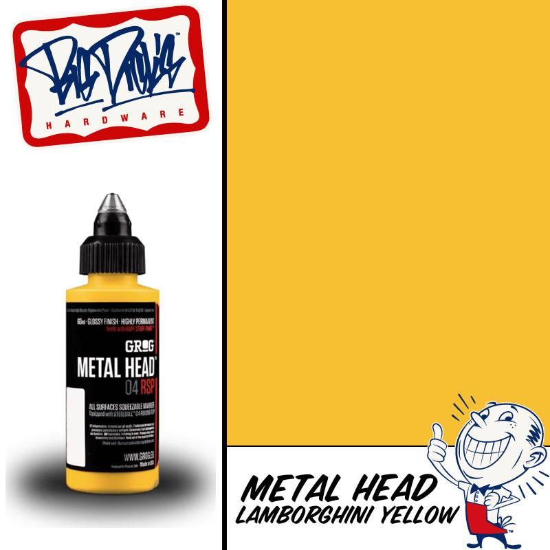 Grog Metal Head - Lamborghini Yellow 60ml