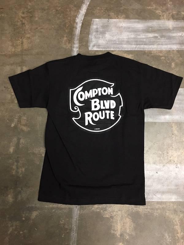 BDH Tee - Compton Blvd - Black