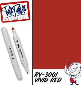 MTN 94 Graphic Marker - Vivid Red RV-3001