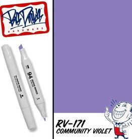 MTN 94 Graphic Marker - Community Violet RV-171