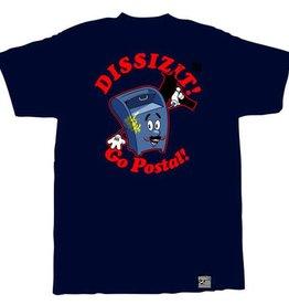 Dissizit Tee - Go Postal - Navy