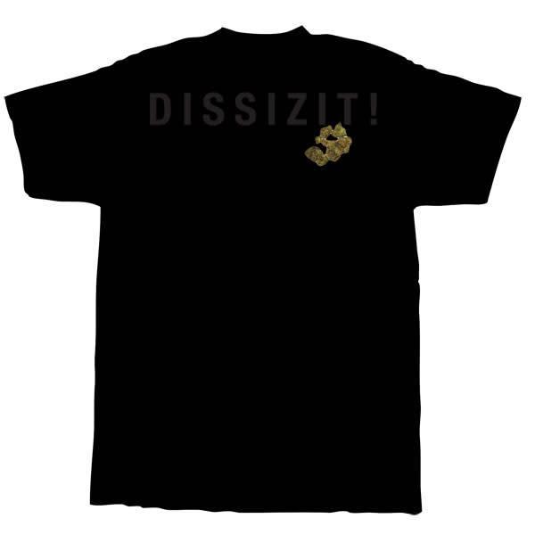 Dissizit Tee - Pocket Rx - Black