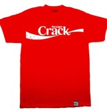 Dissizit Tee - Straight Crack - Red