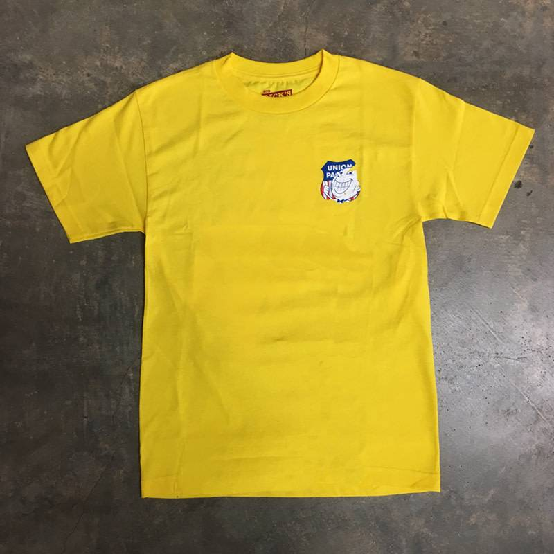 BDH Tee - UP Donx Dripper - Yellow