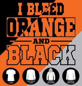 I Bleed Orange and Black Shirt