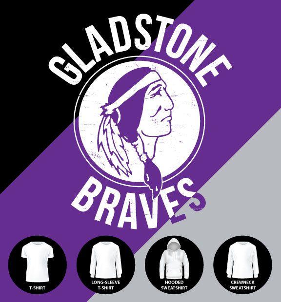 Gladstone Braves Shirt (Item #G2)