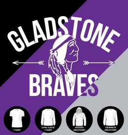 Gladstone Braves Arrows Shirt