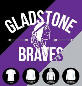 Gladstone Braves Arrows Shirt
