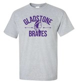 Gladstone Braves Arrows Shirt (Item #G5)