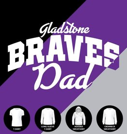 Gladstone Braves Dad Shirt
