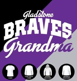 Gladstone Braves Grandma Shirt